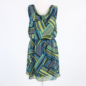 Green blue BANANA REPUBLIC dress 8